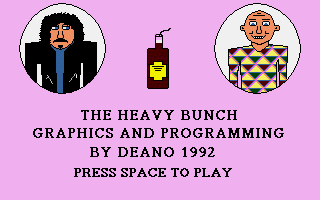 Heavy Bunch (The) atari screenshot